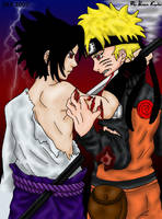 Friends....or Foes...-colored- by InuIrusa-chan