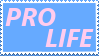 Pro-Life Stamp by SuperGrouper