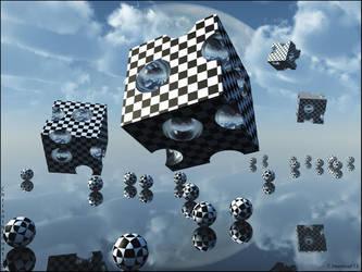 Crash Test Spheres by chrisntheboat
