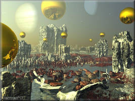 Planet Drainers by chrisntheboat
