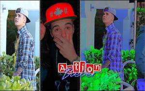 Action Bieber by Mrsrulos