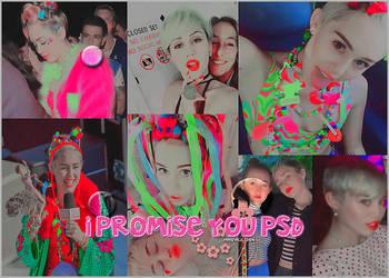| I Promise You PSD | by Mrsrulos