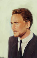 Tom Hiddleston by RoofusCreatures