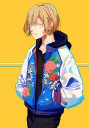 Flower Yurio by Hanromi