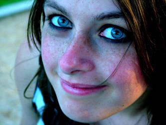 i remember blue eyes. by Shebzee