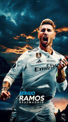 sergio ramos Wallpaper lockscreen 2018 by 10mohamedmahmoud