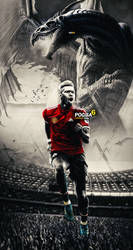 PAUL POGBA WALLPAPER LOCK SCREEN 2019 by 10mohamedmahmoud