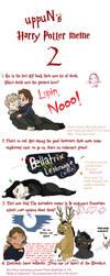 HP Meme 2 - DH Spoiler Warning by ShazTheRaz
