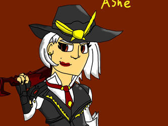 Ashe by fossil-fighter