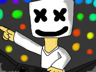 Marshmello by fossil-fighter