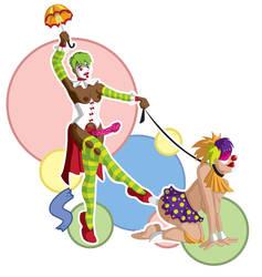 Sexy Clown Posse by Saberhagen