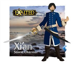 Xi'an Storm Charmer by Saberhagen