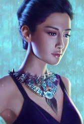 Female Portrait Study 10 Day #101 by AngelGanev
