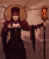 Gerald Brom Study 4 Day #137 by AngelGanev
