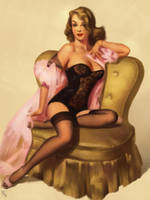 Pin-up Study 5 Day #159 by AngelGanev