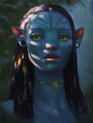 Avatar Fan Art 1 Day #267 by AngelGanev
