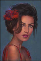 Painterly Portrait 3 Day #276 by AngelGanev