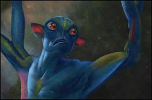 Avatar Fan Art 15 Day #330 by AngelGanev