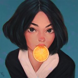 Orange #162 by AngelGanev