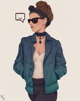 Stylized Character II #296 by AngelGanev