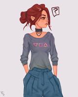 Stylized Character III #297 by AngelGanev