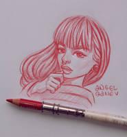 Wanda - Day #119 by AngelGanev
