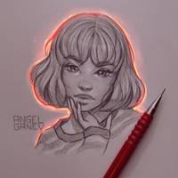 Glowy - Day #157 by AngelGanev