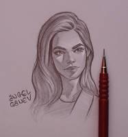 Sandra - Day #234 by AngelGanev