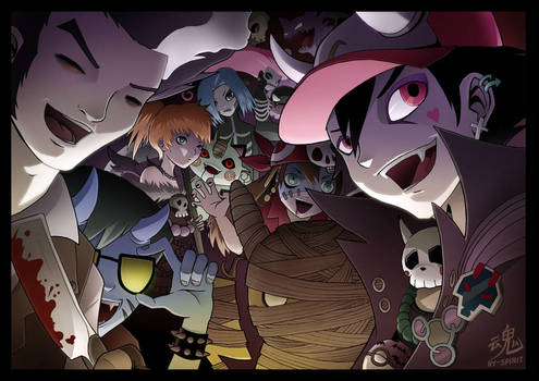 Pokemon Halloween Special by Ry-Spirit
