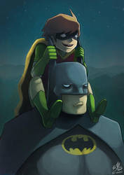 Batman and Robin by Ry-Spirit