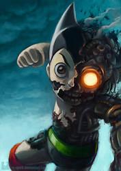 Astroboy's Intense Battle by Ry-Spirit