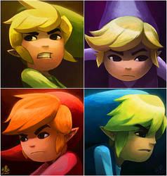 Zelda Four Swords Adventure by Ry-Spirit