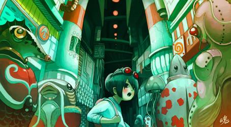 Underwater City by Ry-Spirit