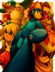 Mega Man by Ry-Spirit