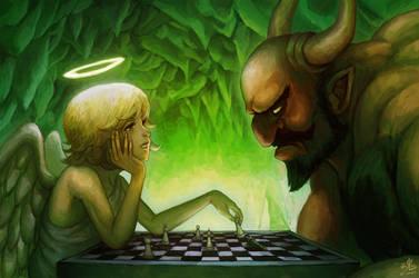 Checkmate Satan by Ry-Spirit