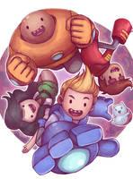 Bravest Warriors with Catbug by Ry-Spirit