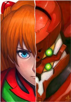 Asuka Eva-02 by Ry-Spirit