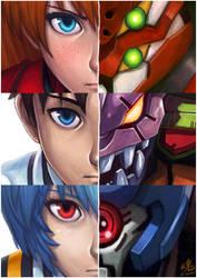 Neon Genesis Evangelion by Ry-Spirit