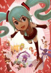 A Burst of Vocaloids by Ry-Spirit