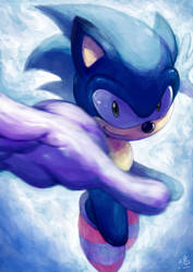Sonic the Hedgehog by Ry-Spirit