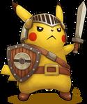 Pikachu Knight by Ry-Spirit