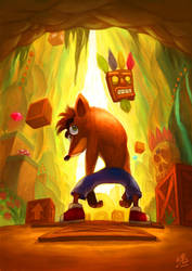 Crash Bandicoot by Ry-Spirit