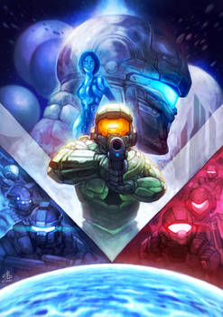 Halo 5 Guardians Fan Art Entry by Ry-Spirit