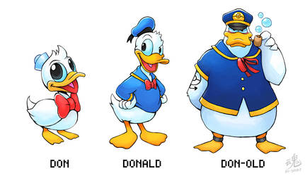Don - Donald - Don-old (Old Design) by Ry-Spirit