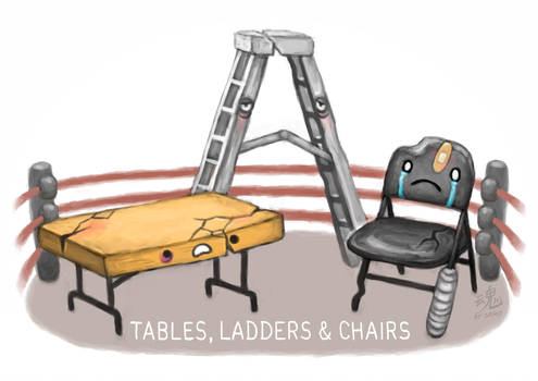 Tables, Ladders and Chairs by Ry-Spirit