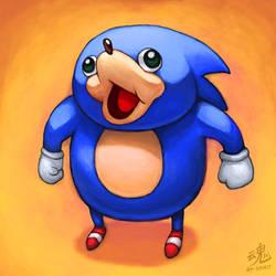 Ugandan Sonic by Ry-Spirit