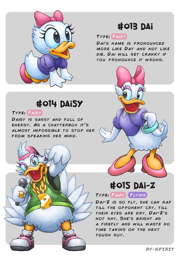 #013 Dai - #014 Daisy - #015 Dai-Z by Ry-Spirit