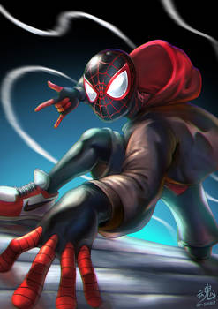 Spider-man (Miles Morales) by Ry-Spirit