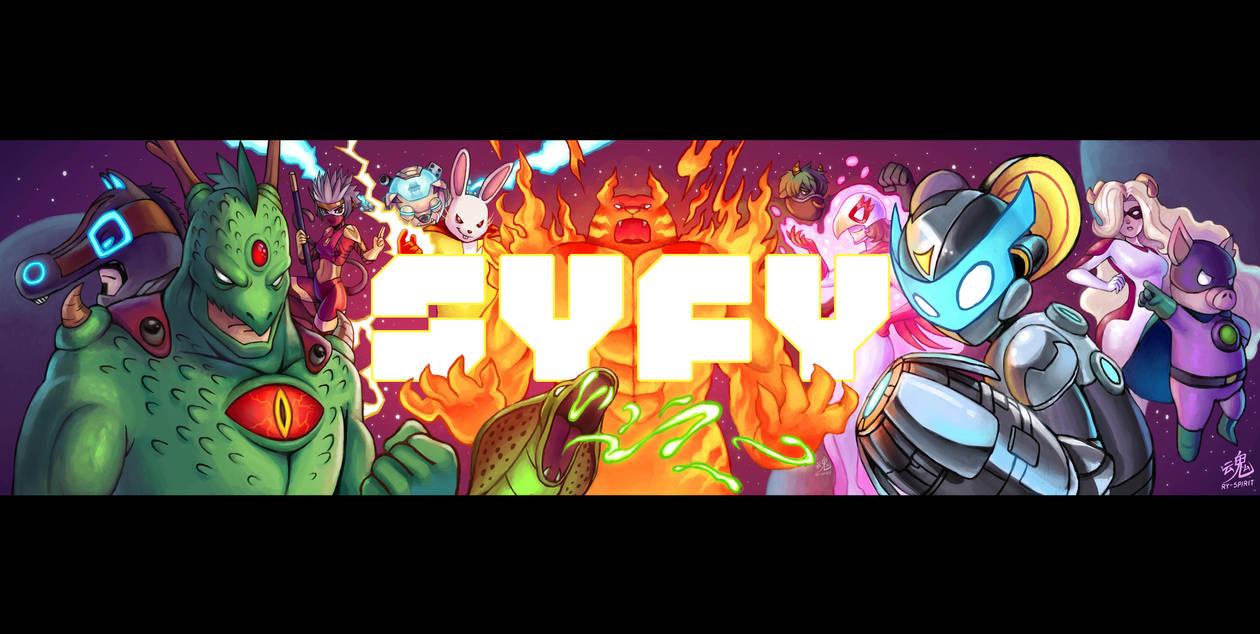 SYFY Superheroes Banner by Ry-Spirit