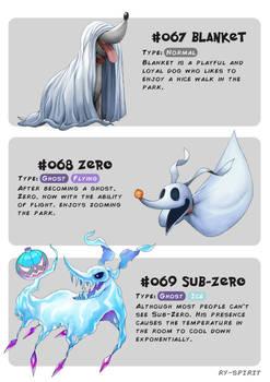#067 Blanket - #068 Zero - #069 Sub-Zero by Ry-Spirit